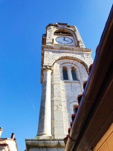 ρολόι στο κέντρο της δημητσάνας
