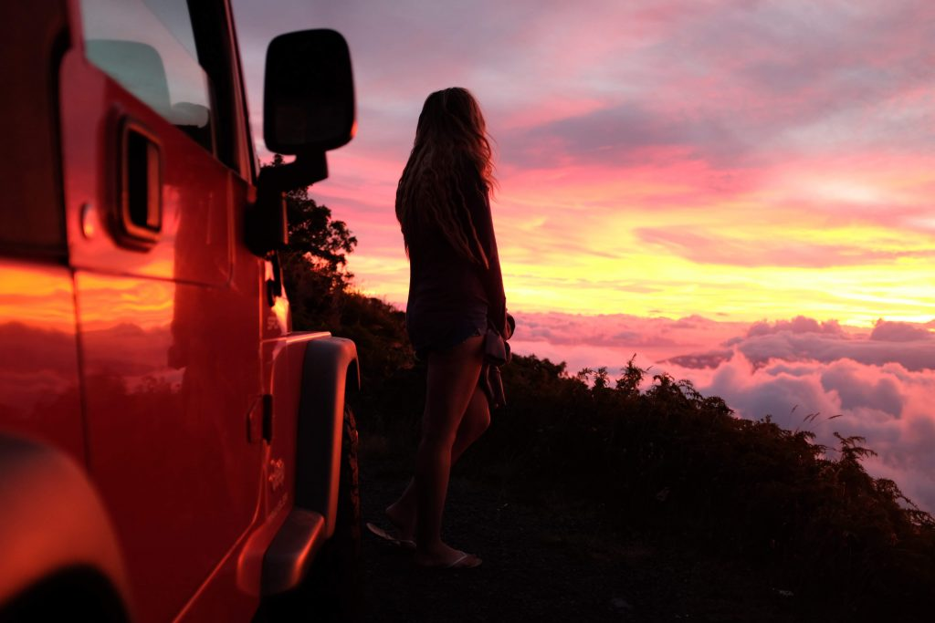 ένα ηλιοβασίλεμα
