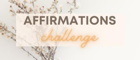 affirmations challenge